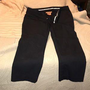 Tory Burch Pants - Tory Burch black cropped pants